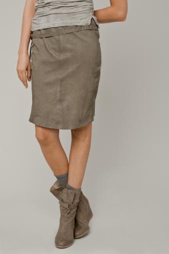 HumanoidSkirts Grey, Fashion Style, Goats Su, Sheep Leather, Humanoid Paper, Pencil Skirts, Humanoid Leather Skirts, Fashion National, Style Fashion