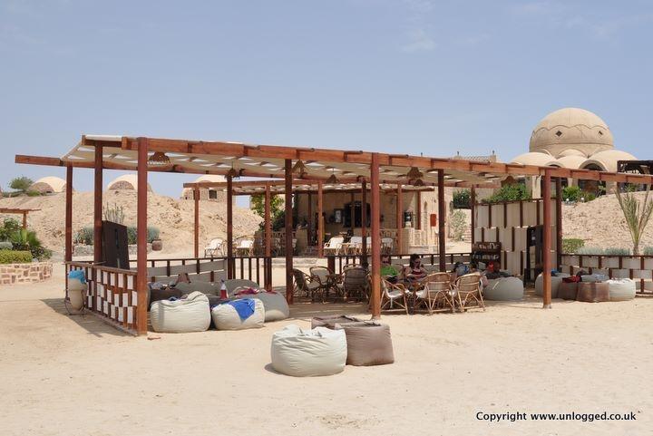 The Red Sea Diving Safari Bar in Marsa Alam