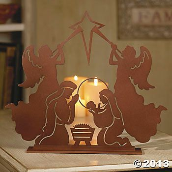Laser-Cut Nativity