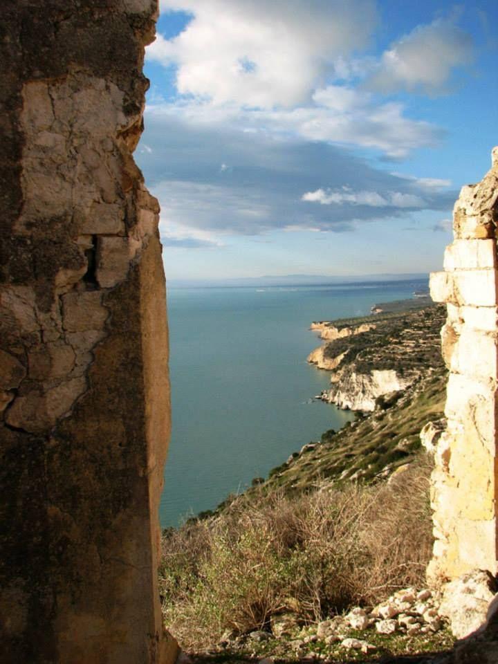 La costa Garganica da Monte Saraceno... www.destinazioneg... pinned with Pinvolve - pinvolve.co