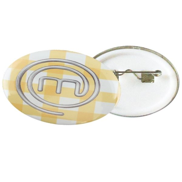 OVAL BUTTON BADGE 35MM WITH FULL COLOR OVAL BUTTON BADGE 58MM WITH FULL COLOR Product size: 35mm Branding; Digital print  Material: Metal and Plastic