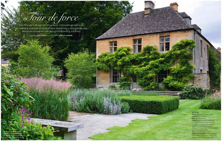 Garden in the Cotswolds, designed by Dan Pearson. Photo Marcus Harpur.