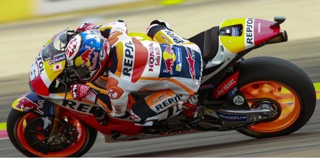 Covesia.com - Pebalap Repsol Honda, Dani Pedrosa menjadi yang tercepat dalam sesi latihan bebas (Free Practice) kedua jelang balap MotoGp di Sirkuit Aragon...