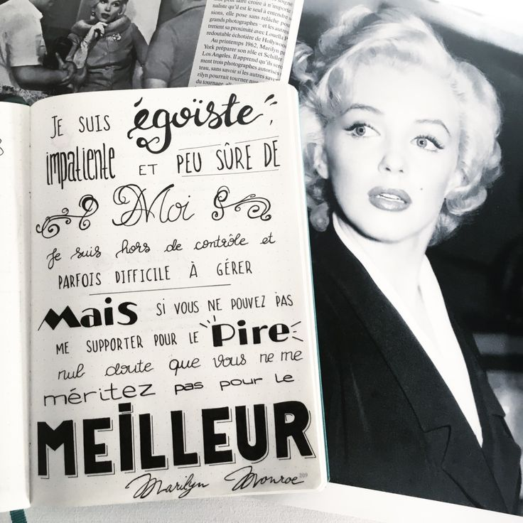 Citation Marilyn