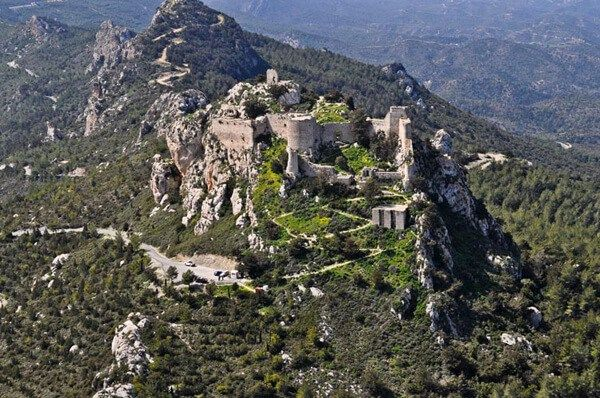 Kantara Castle in North Cyprus