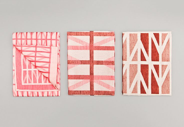 Textiel Museum towels designed by Raw Color.