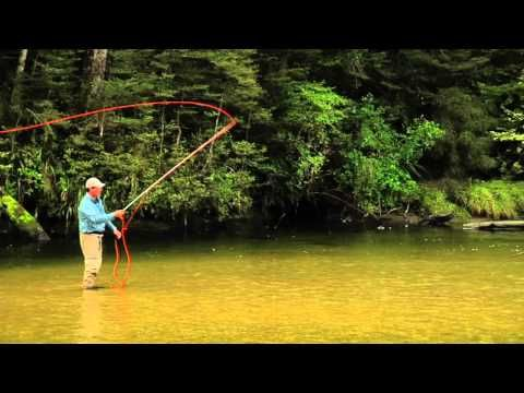 ▶ Fly Fishing. Fly Casting :: Roll casts, Curve casts and more! :: Cast that Catch Fish - YouTube