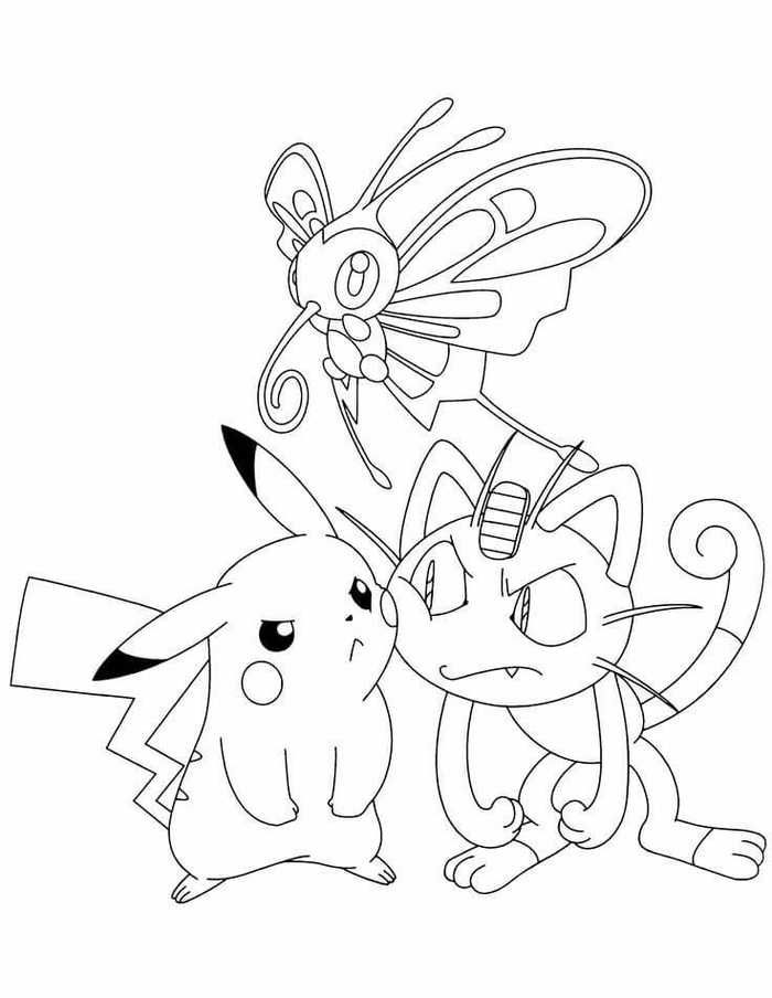 Printable Pokemon Coloring Pages For Your Kids Pokemon Coloring Pages Pokemon Coloring Pikachu Coloring Page