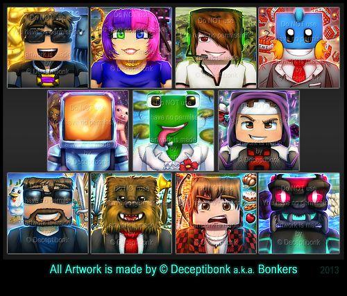 Bonker's Youtube Profile Art!