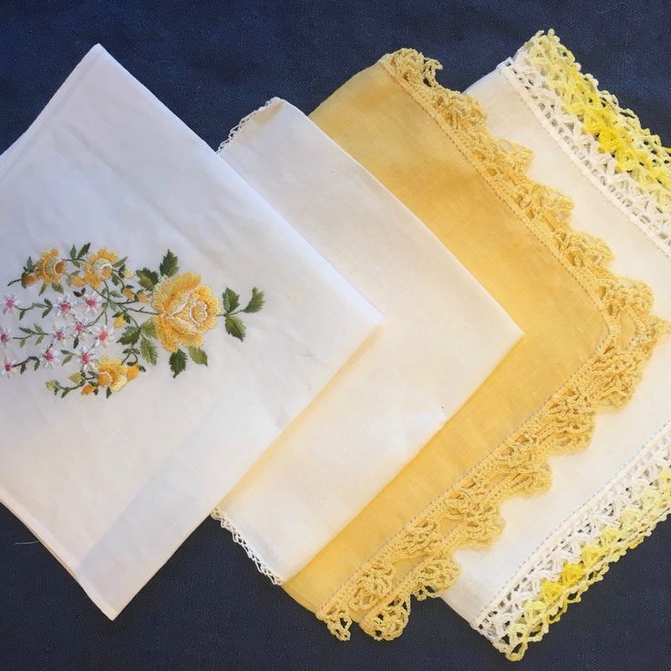NEW!  Hundreds of Vintage Hankies in Color Packs for your Bridesmaids!  Whether your wedding colors are blue, pink, yellow, red, green, orange, grey, or white, we have the Bridesmaids Vintage Hankies! The Color Packs range from 2 to 7 hankies in each.