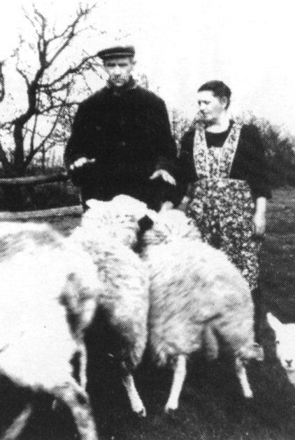 Skieppekeapman Brant Zijlstra met zijn vrouw