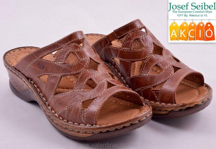 Josef Seibel női barna papucs kedvezményes áron vásárolható a Josef Seibel Referencia Szaküzletben vagy rendelhető webáruházunkból!  http://valentinacipo.hu/josef-seibel/noi/barna/utcai-papucs/142649340  #Josef_seibel #női_papucs #Valentina_Cipőboltok