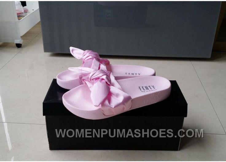 http://www.womenpumashoes.com/puma-x-fenty-bandana-slide-baby-pink-bow-slide-new-style-kqs3a.html PUMA X FENTY BANDANA SLIDE BABY PINK BOW SLIDE NEW STYLE KQS3A : $75.03