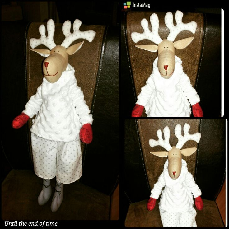 Reindeer, Laura countrystyle, sew toy, christmas