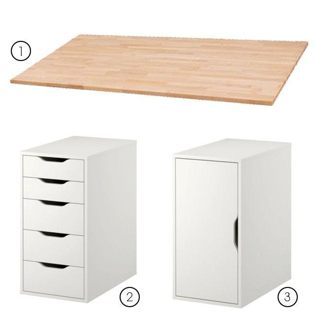 17 best images about possible nail desks on pinterest michaels craft custom desk and micke desk. Black Bedroom Furniture Sets. Home Design Ideas