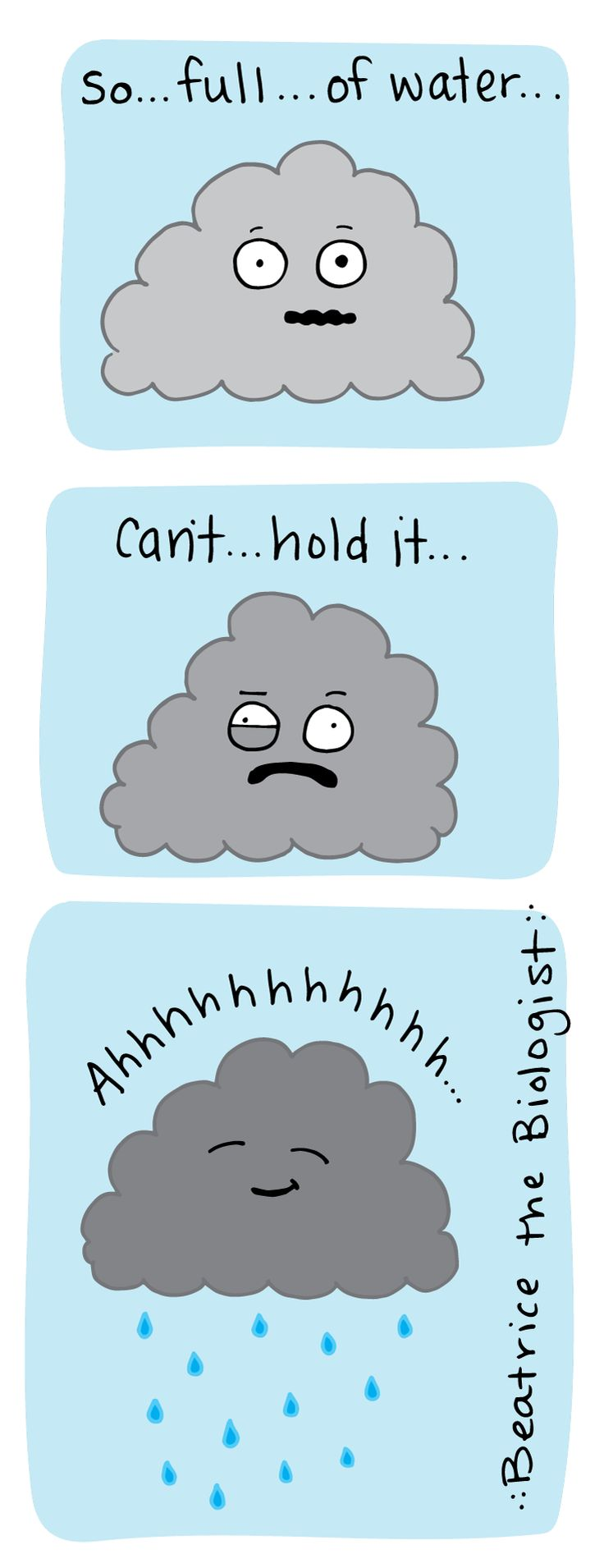 Rain Cloud - Beatrice the Biologist …