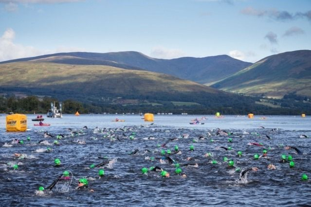(PHOTO: Great Scottish Swim)  August Bank Holiday 2016: Things to do in the UK:  Loch Lomond: Great Scottish Swim  The Great Scottish Swim is part of Europe's biggest open water swim series and takes place from 26 to 27 August, with over 2,000 swimmers of all ages and abilities expected to head to the majestic surroundings of Loch Lomond and the Trossachs National Park to take on a range of distances from the beginners half-mile to the brand new 10k marathon swim.