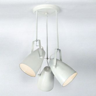 Suspension 3 projecteurs en acier diam�tre 60 cm Larsen