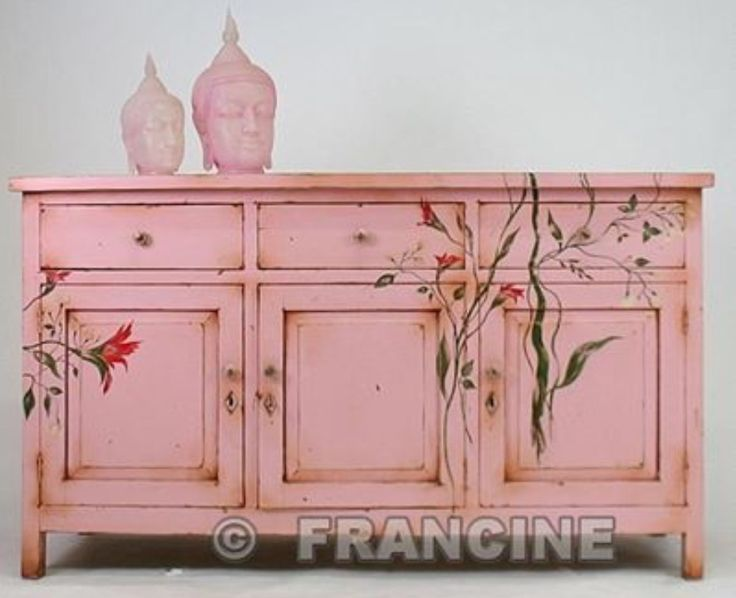 25 best ideas about pink dresser on pinterest shabby for Ideas for painting a dresser