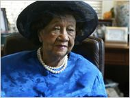"""Dorothy Height -- civil rights leader whose career spanned 8 decades was often overlooked though she worked hand-in-hand with MLK.  To that she said: """"I was there, and I felt at home in the group but I didn't feel I should elbow myself to the front when the press focused on the male leaders."""""""