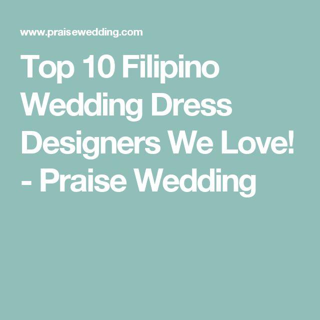 25 Best Ideas About Filipino Wedding On Pinterest