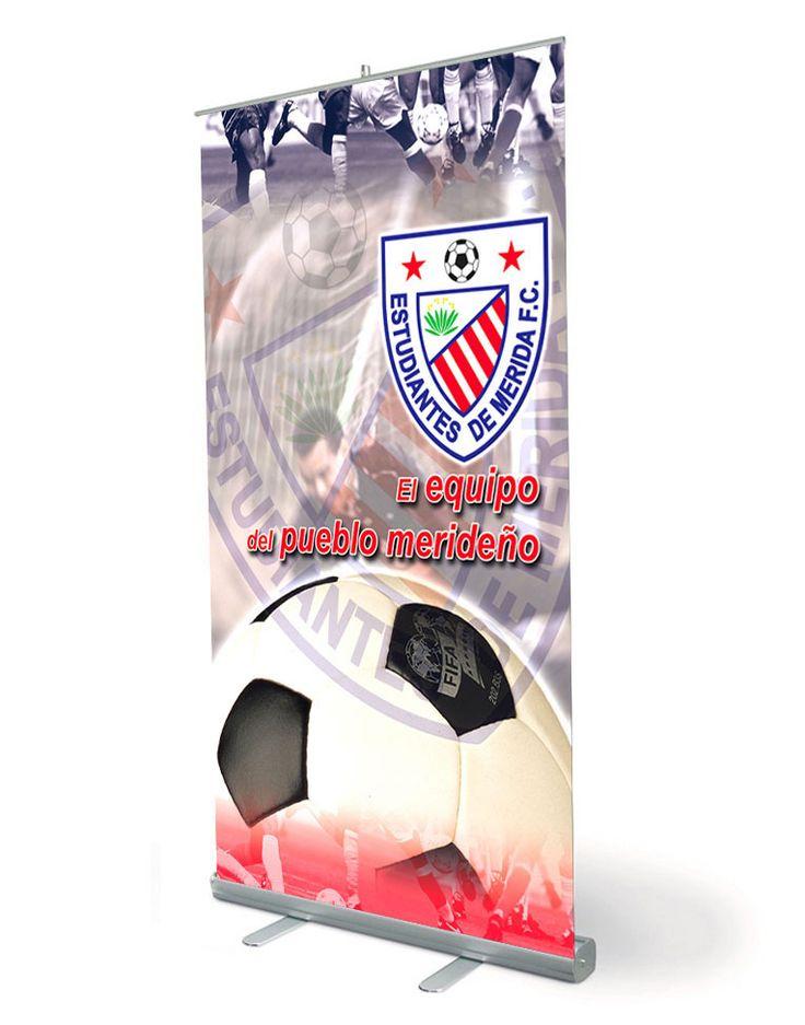 Pendón Estudiantes de Mérida F.C. ● Tamaño: 90 x 120 cms ● Cliente: Entrelíneas.