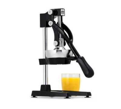 Get your creative juices flowing and mix up the perfect mojito or any juice based cocktail with ease with this Jupiter manual juicer from Focus Foodservice. This top-of-the-line, manual juicer provides dependable performance in extracting pure citrus juices from oranges, lemons, limes, and grapefruits. http://www.katom.com/268-97336.html