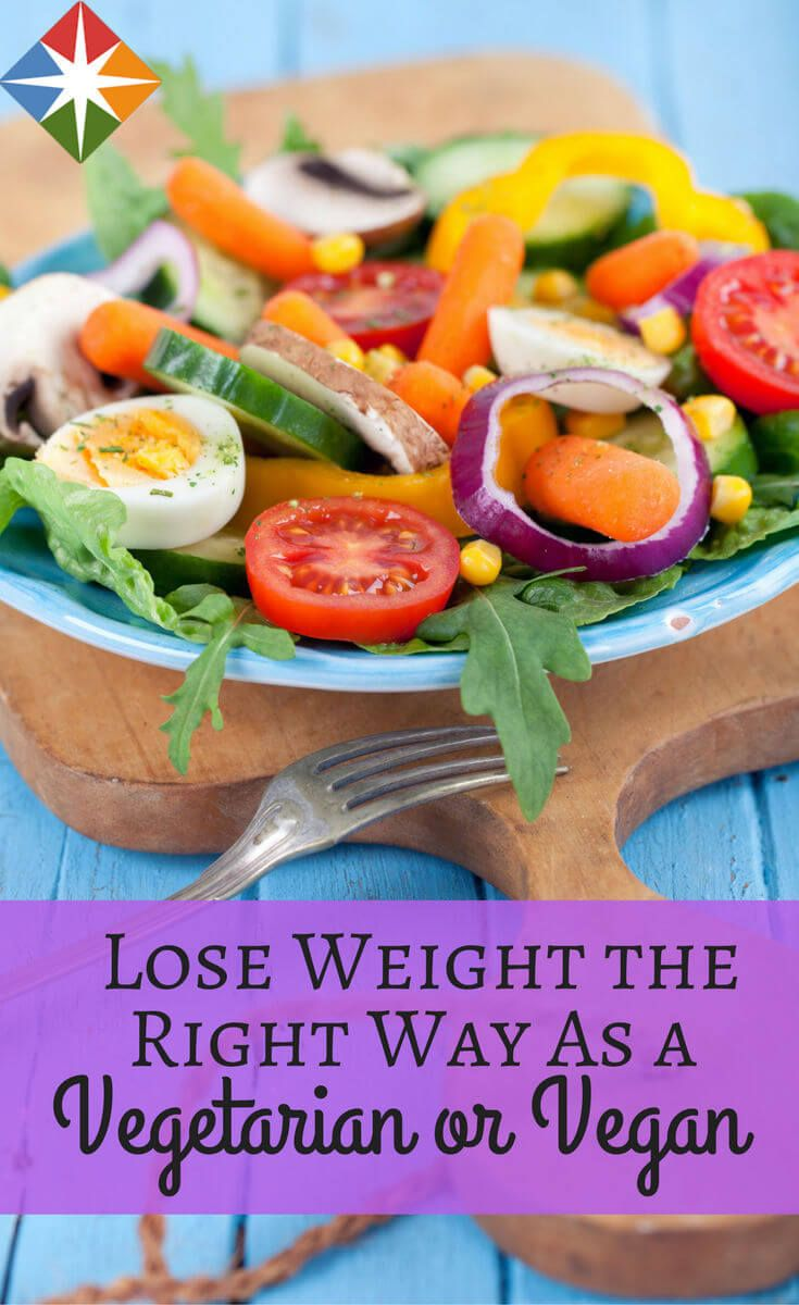 Losing weight as a vegetarian or vegan can be hard--after all, there is no meat in chips! Learn how to lose weight on a vegetarian or vegan diet--feel better, look better, get healthy eating the foods you love.