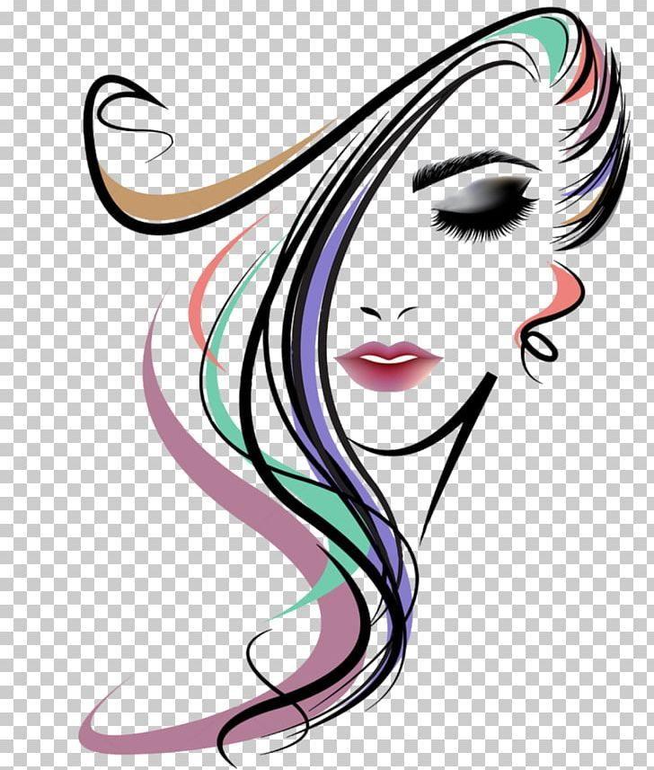 Hairstyle Beauty Parlour Woman Png Artwork Beauty Beauty Parlour Black Hair Cheek Drawing Artwork Silhouette Drawing Silhouette Art