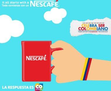 Nescafé #CelebraSerCOlombiano