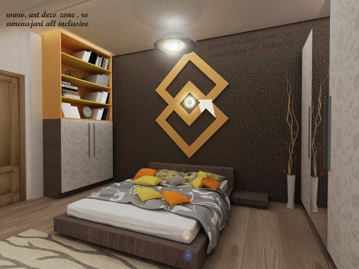 Ce zici de design-ul acestui dormitor? Design interior duplex la cheie - Brasov - Art Deco Zone & Knox Design - Amenajari interioare Bucuresti. www.artdecozone.ro, #amenajaridormitor, #designculoricalde, #decormodern