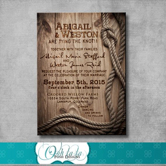 Rustic Wedding Invitation Response card Save by OohlalaPoshDesigns