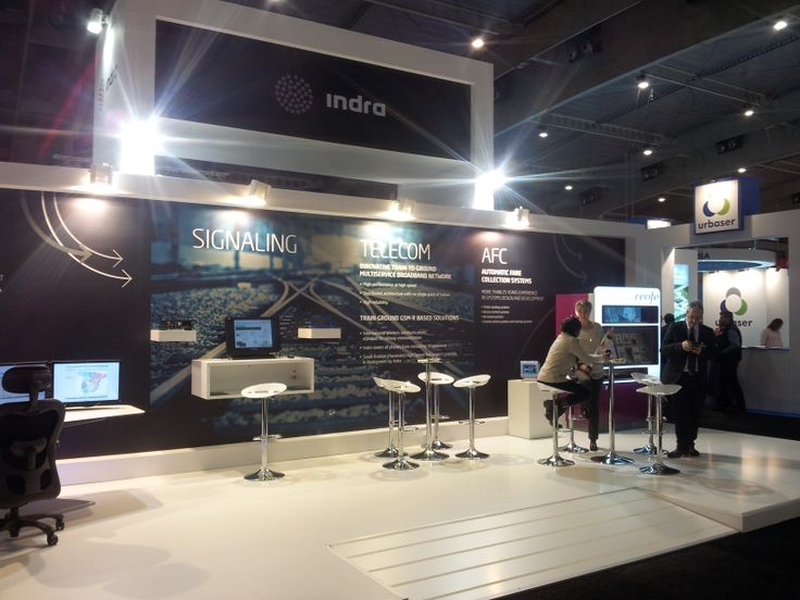 Smart City Expo World Congress 2013 - Stand Indra