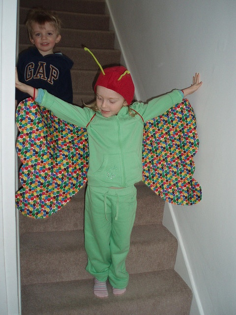 #7 The Very Hungry Caterpillar party outfit idea.#WorldEricCarle and #HungryCaterpillar