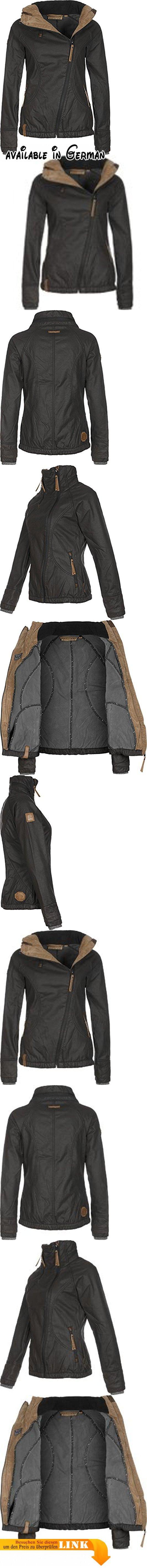 Naketano Damen Jacke schwarz (15) 38. Material: Obermaterial: 42% Baumwolle, 40% Polyester, 18% Polyamid Futter 1: 100% Polyester Futter 2: 100% Baumwolle. Teile tierischen Ursprungs: Nein #Apparel #OUTERWEAR