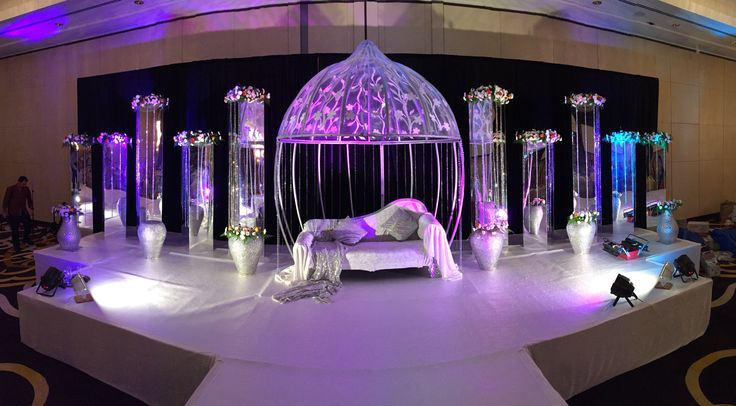 Wedding Stage at Conrad Hotel