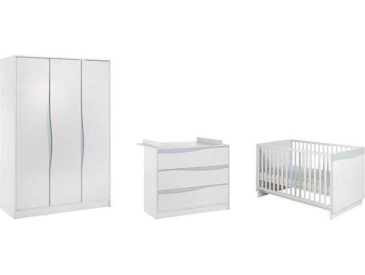 Komplettset Fur Babyzimmer Weisses Zeitloses Design Wave
