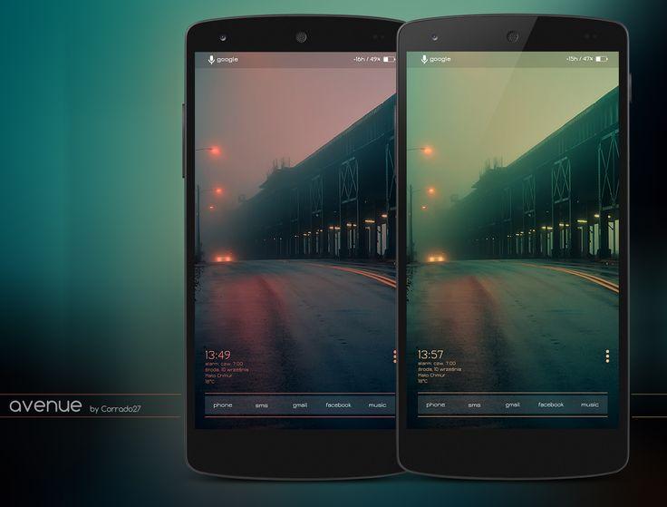 avenue Android Homescreen by Corrado27 - MyColorscreen