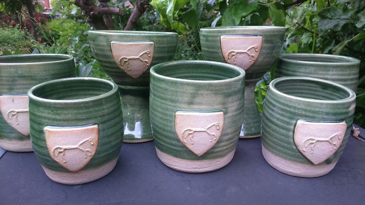 Goblets and beakers for wessex medieval