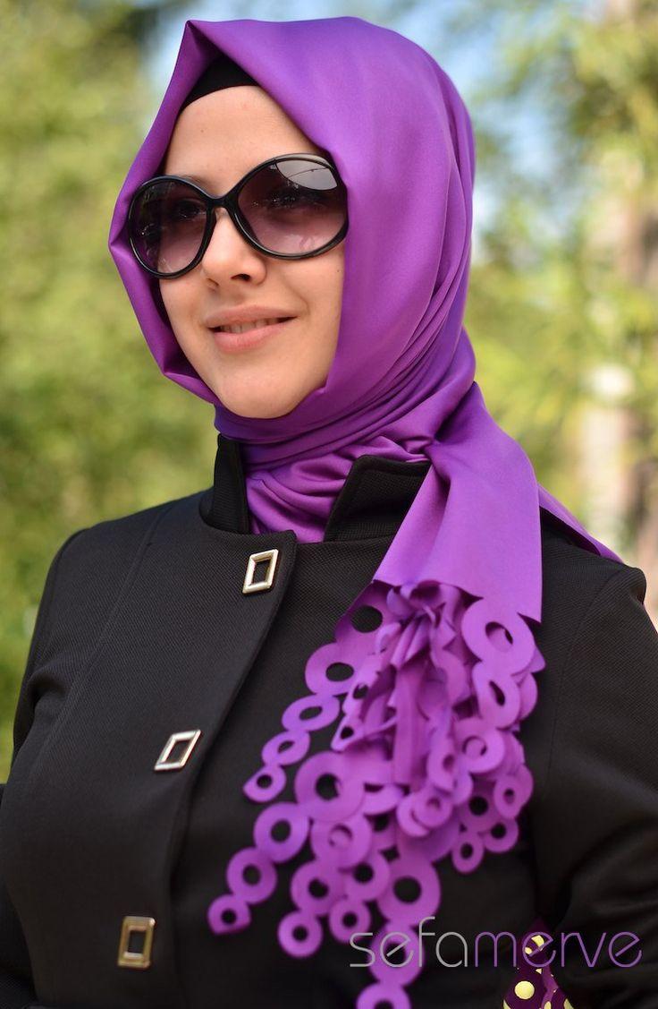 Turkish Hijab 2013 wonderful sefamerve how to wear hijab 2013 - hispanic-muslimah Versi Mobile