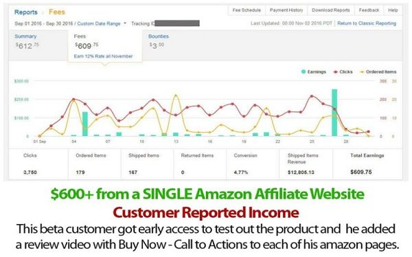 Azon Profit Builder is a fully automated amazon affiliate site builder web app that comes with lifetime hosting for unlimited sites – a complete set and forget amazon site builder for internet marketers.