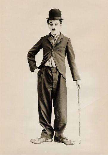 Sir Charlie Chaplin how is that man depends on his bodylanguage in acting