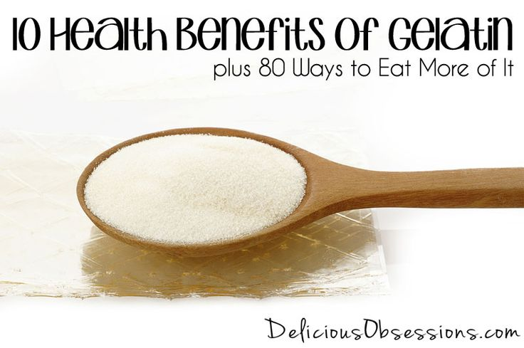 10 Health Benefits of Gelatin, plus 80 Ways to Eat More of It // deliciousobsessions.com