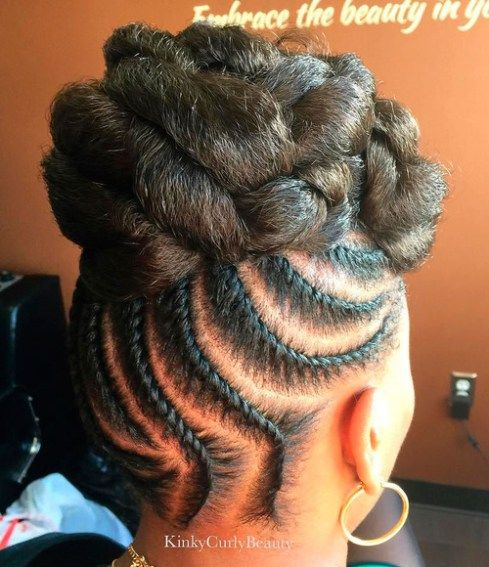 braided hair styles for men best 25 flat twist updo ideas on updo 8626 | f191b9f8626db0f3d48429906497c025