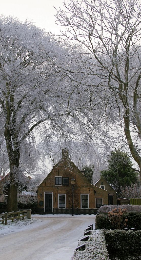 Oude Commandeurs Woning, Nes, Ameland, Friesland.