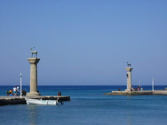 The Colossus of Rhodes, Greece (Now)