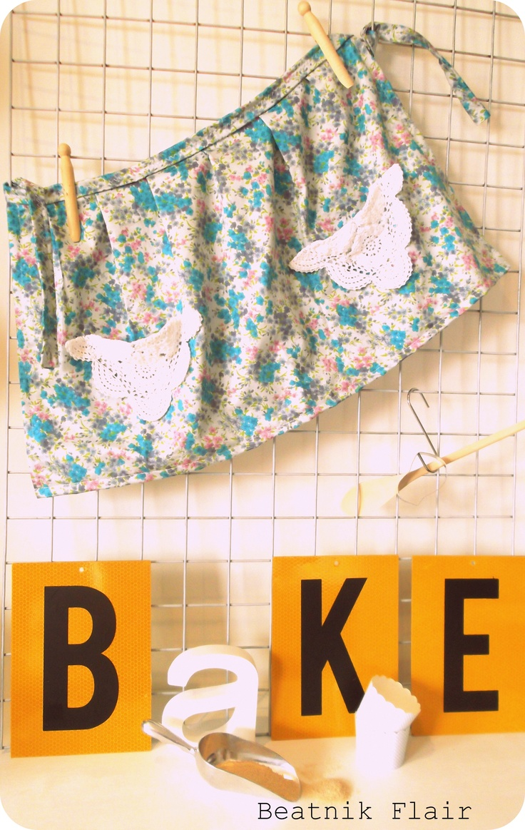 Beatnik Flair Handmade - Baking Set  www.facebook.com/BeatnikFlair