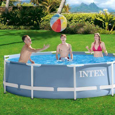 Intex piscina desmontable prisma frame 305 x 76 cm, 4.485 l por 75,14 €  #Piscina desmontable tubular #Intex de la línea #Prisma Frame. Piscina circular, de estructura metálica y lona en color #azul celeste, mide: 305x76 cm.   #chiollos #ofertas #piscina #Verano  #chiollos #ofertas #piscina #Verano