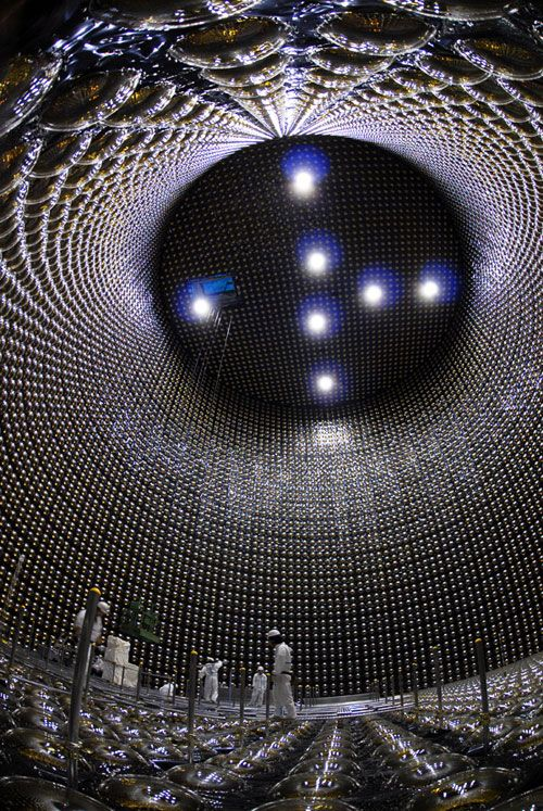 Super-Kamiokande Neutrino Detector in Japan