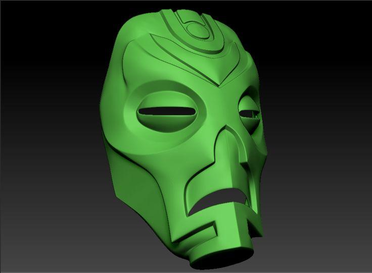 Image result for 3d printed skyrim mask